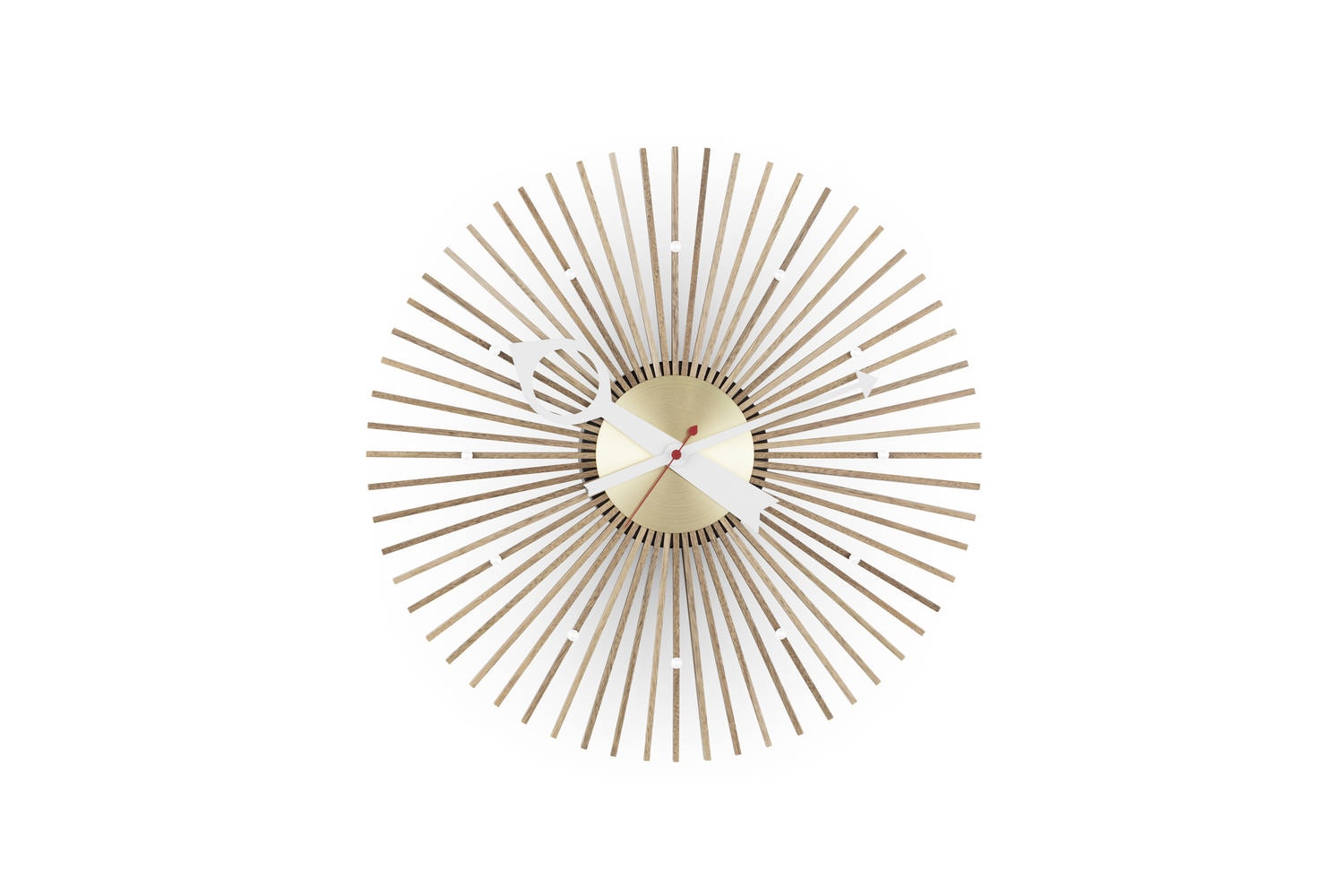 Popsicle Clock by George Nelson for Vitra