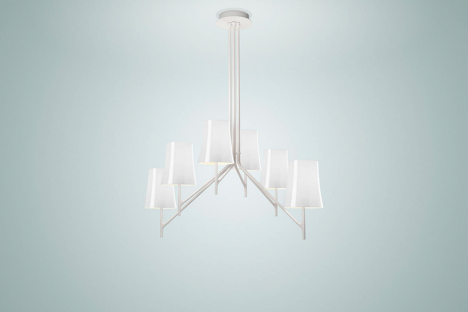 Foscarini applique foscarini big bang bianca