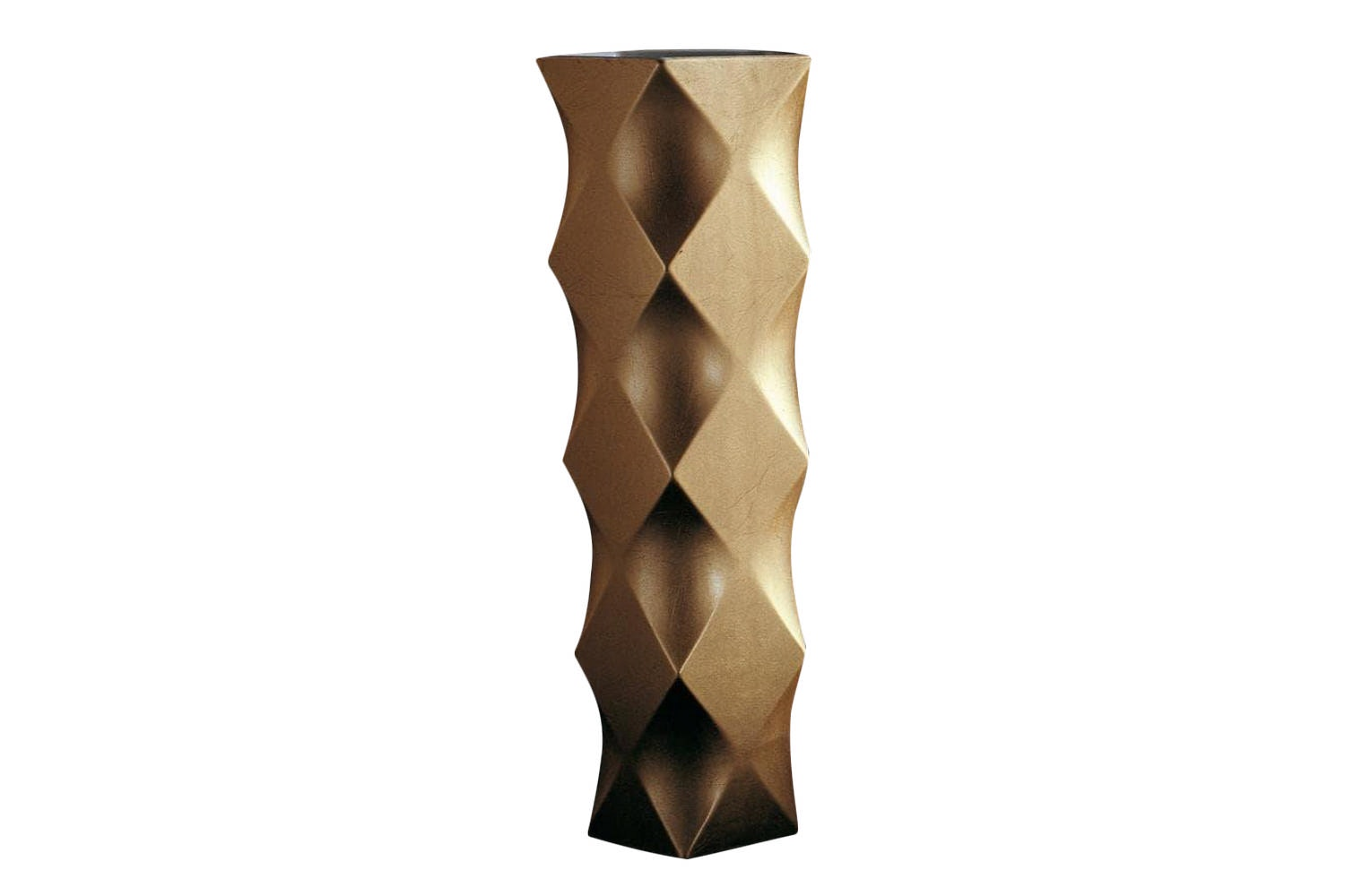 Joker High Vase in Gold or Silver by Nicole Aebischer for B&B Italia