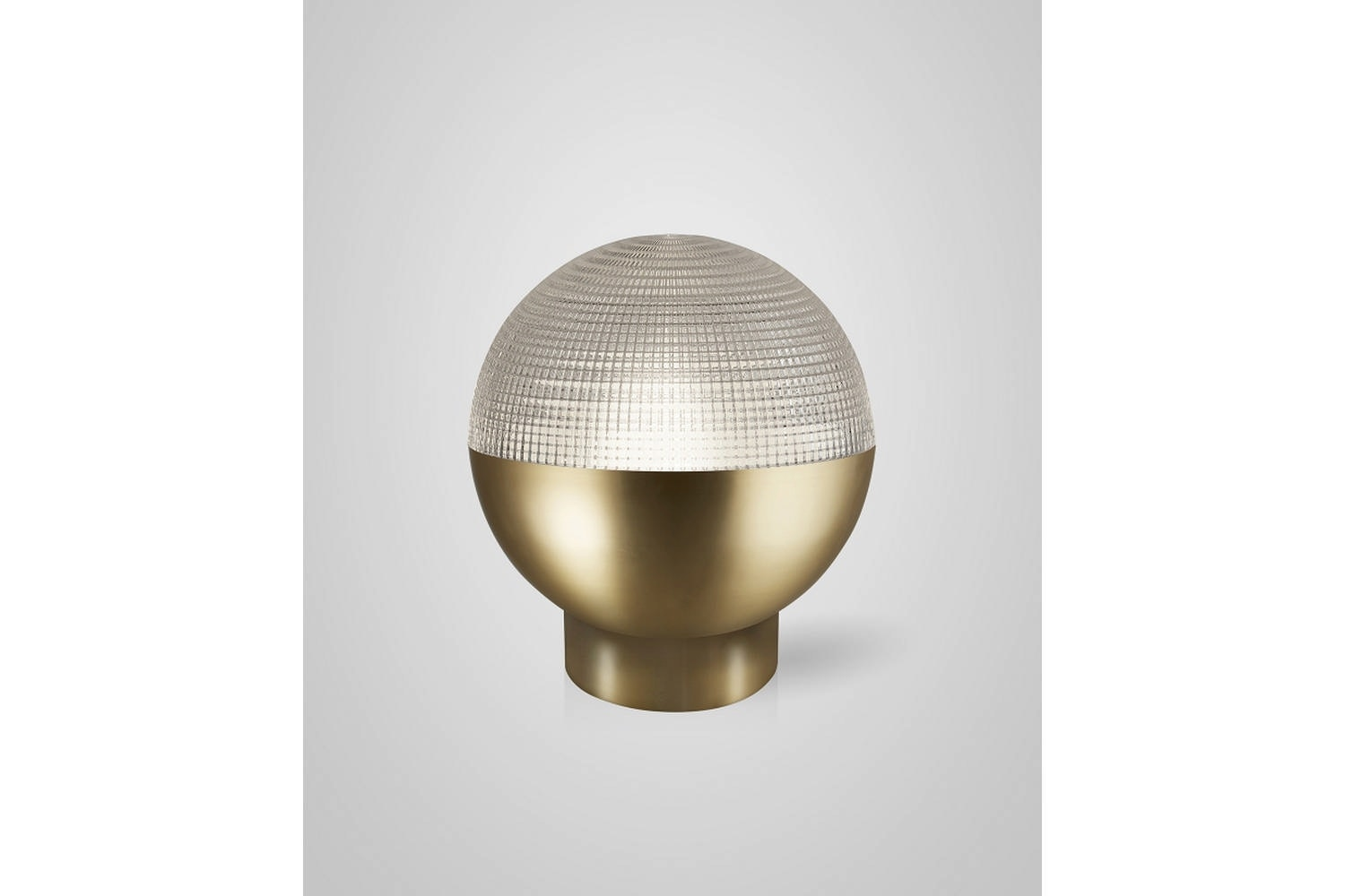 Lens Flair Table Lamp - Brushed Brass by Lee Broom