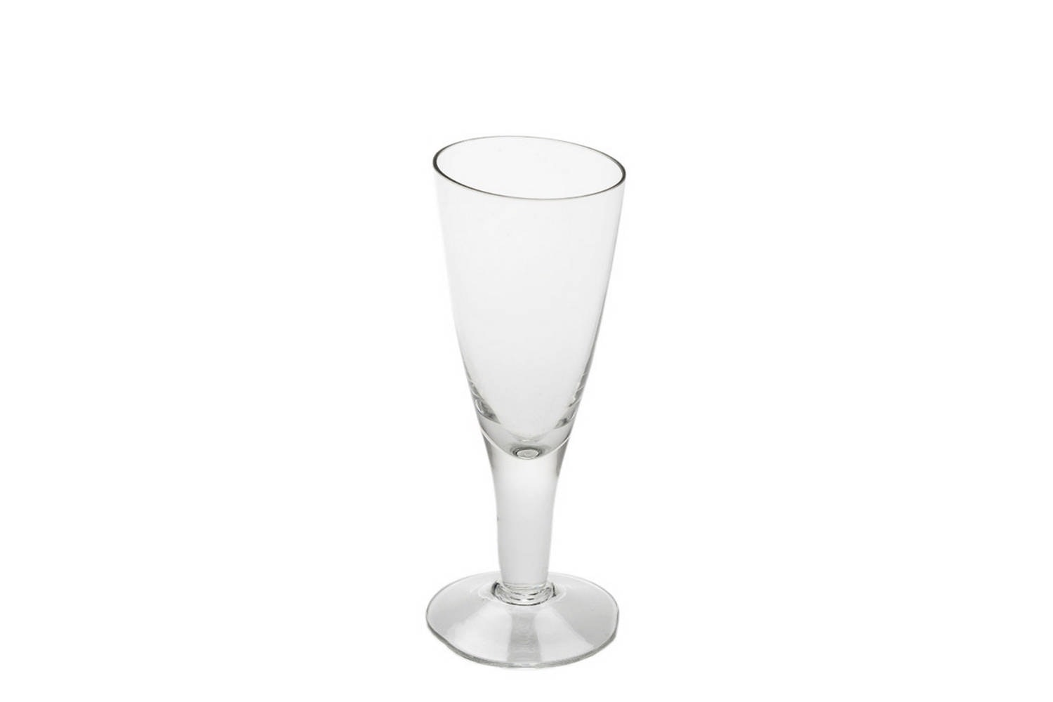 Tipsy Champagne Glass by Tse & Tse