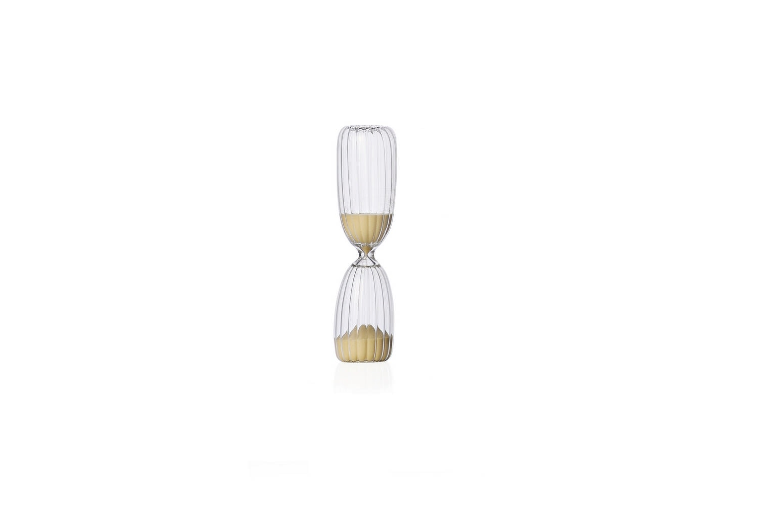Times Hourglass 5 Minutes - Transparent by Denis Guidone for Ichendorf Milano