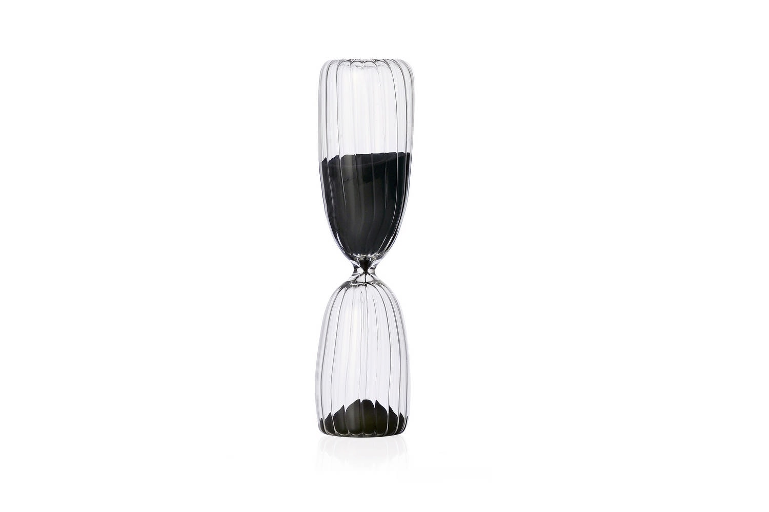 Times Hourglass 15 Minutes - Transparent by Denis Guidone for Ichendorf Milano