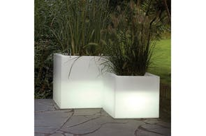 Cubotti Pot with Light by Nat Wave for Serralunga