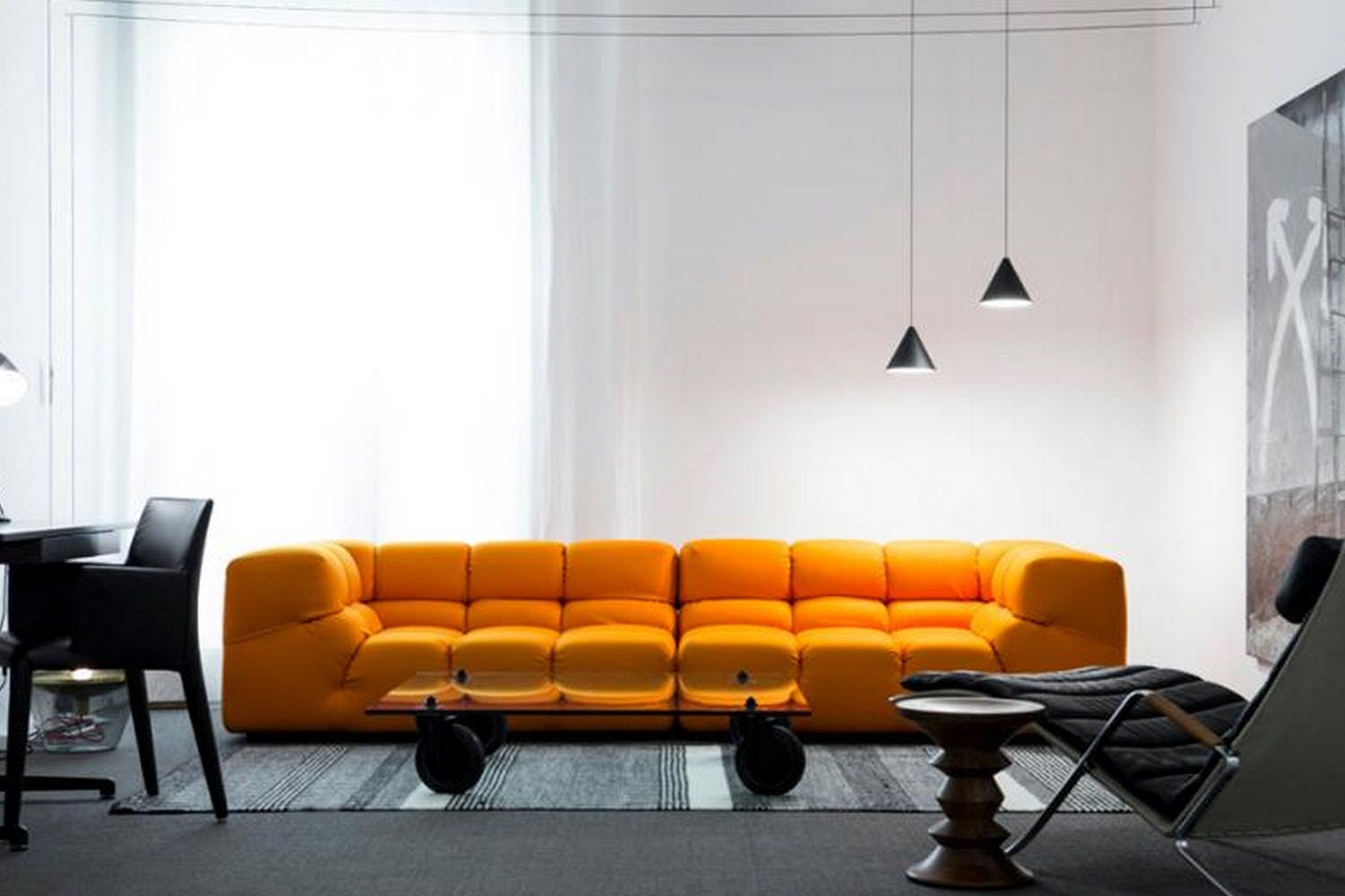Tufty Time Sofa In Fabric By Patricia Urquiola For B Amp B
