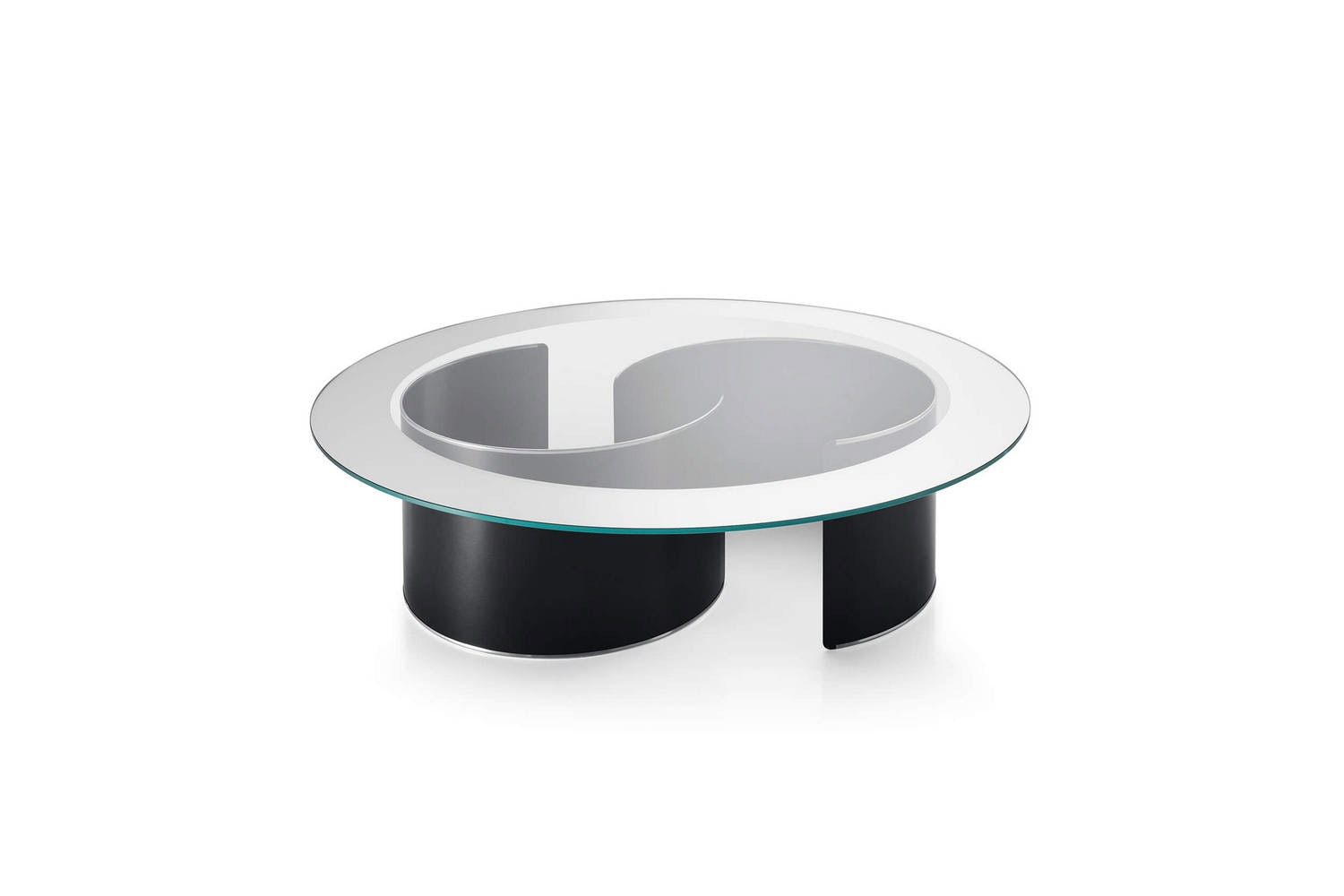 Fascia Specchiata Coffee Table by Luigi Caccia Dominioni for Azucena