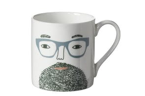 Beardy Man Mug by Donna Wilson