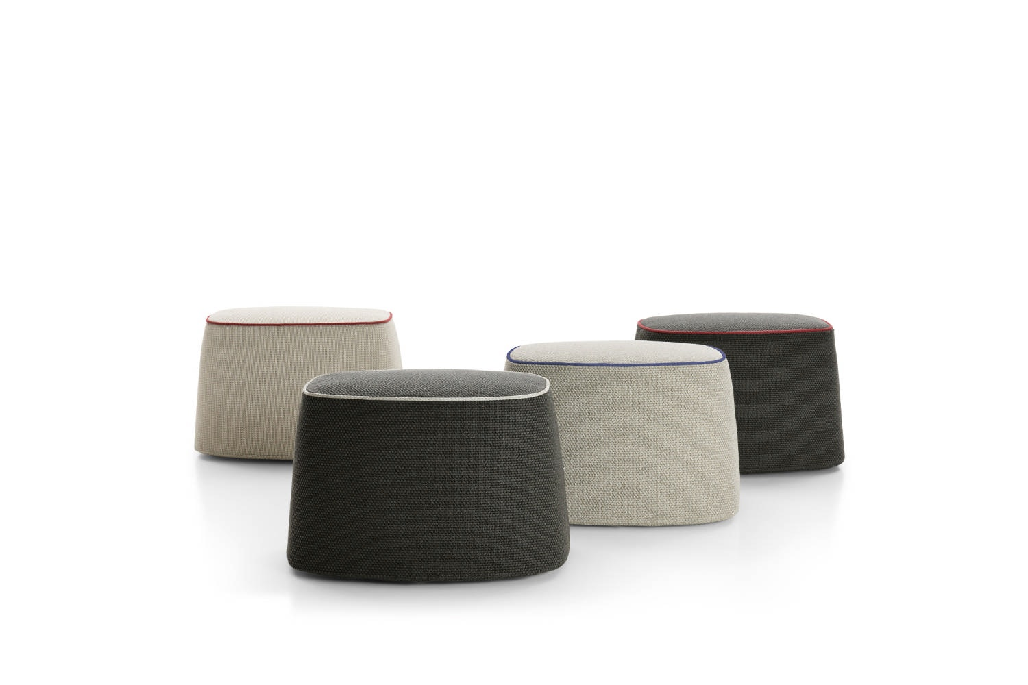 Frank Outdoor Ottoman by Antonio Citterio for B&B Italia