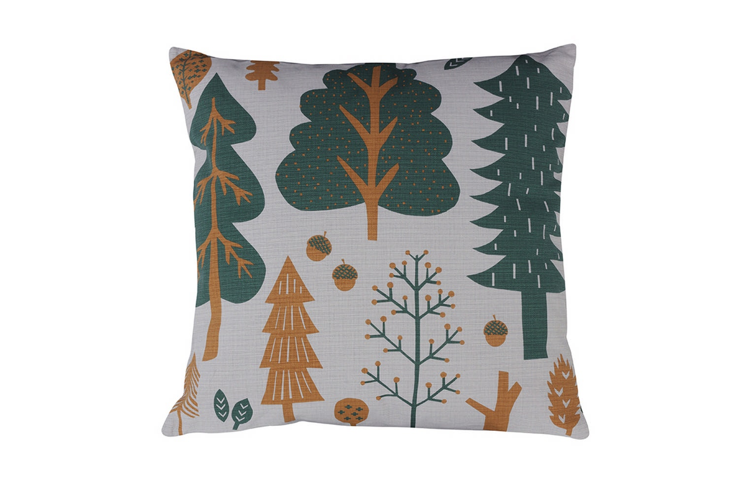 Forest Cushion - Grey  by Donna Wilson
