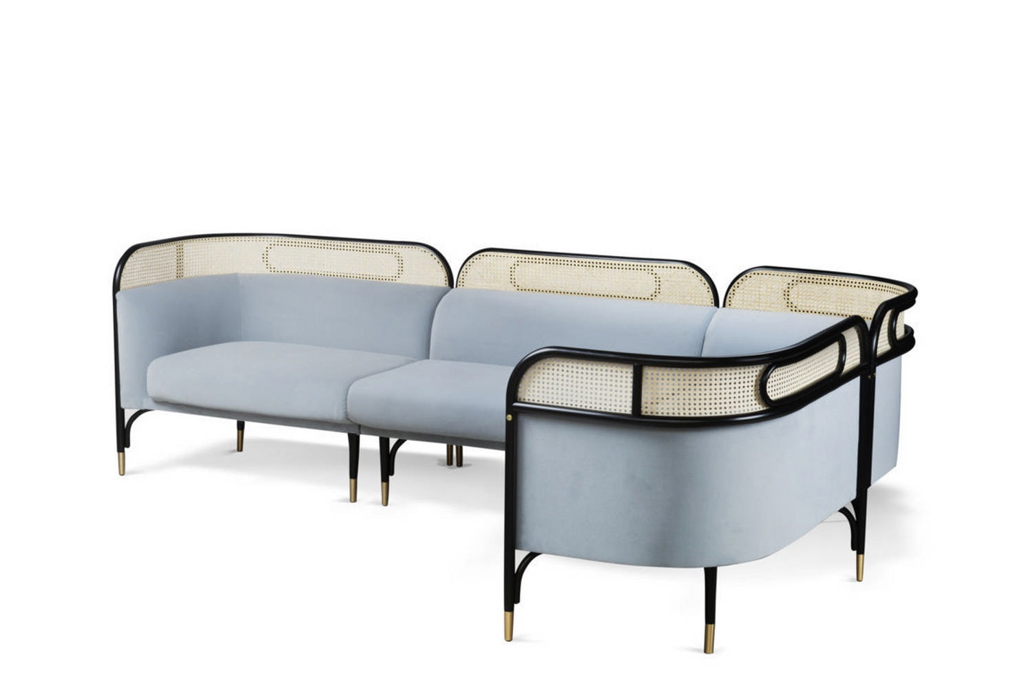 Targa Modular Sofa by GamFratesi for Gebruder Thonet Vienna GmbH