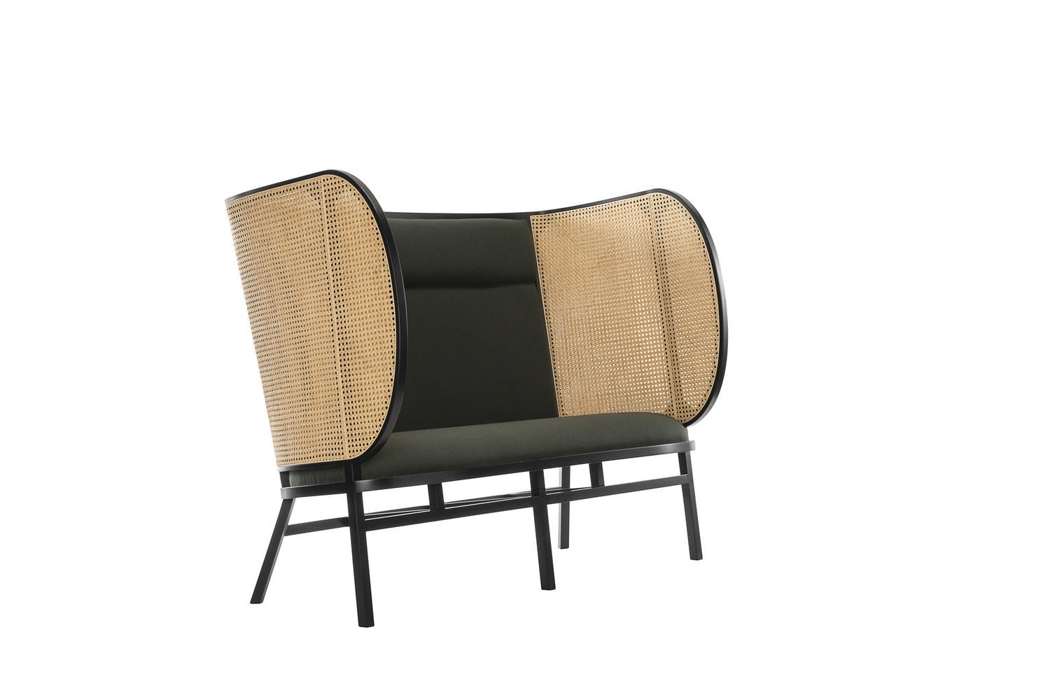 Hideout Loveseat by Front for Gebruder Thonet Vienna GmbH
