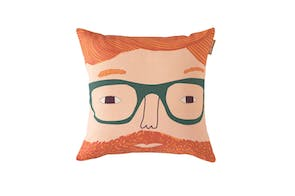 Ginger Man Cushion by Donna Wilson