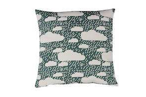 Rainy Day Cushion - Dark Blue by Donna Wilson