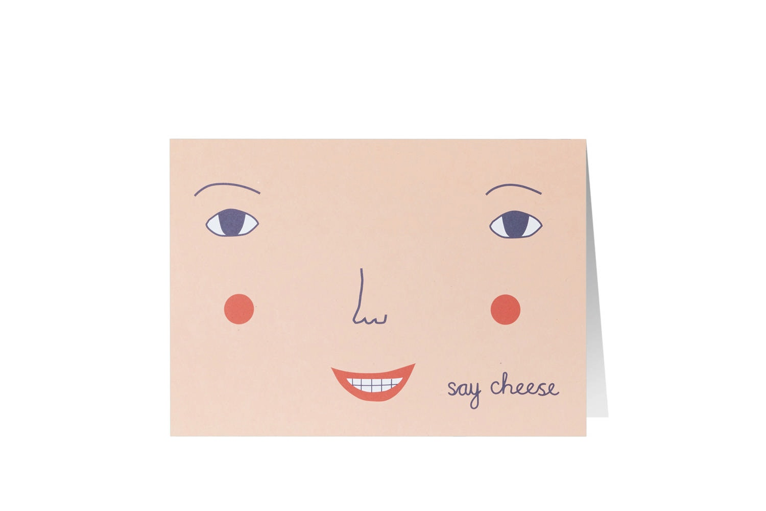 Say Cheese Card by Donna Wilson