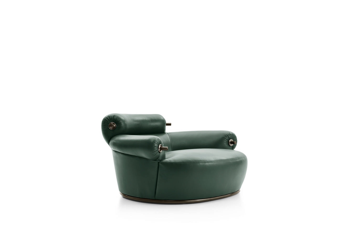 Toro Armchair by Luigi Caccia Dominioni for Azucena