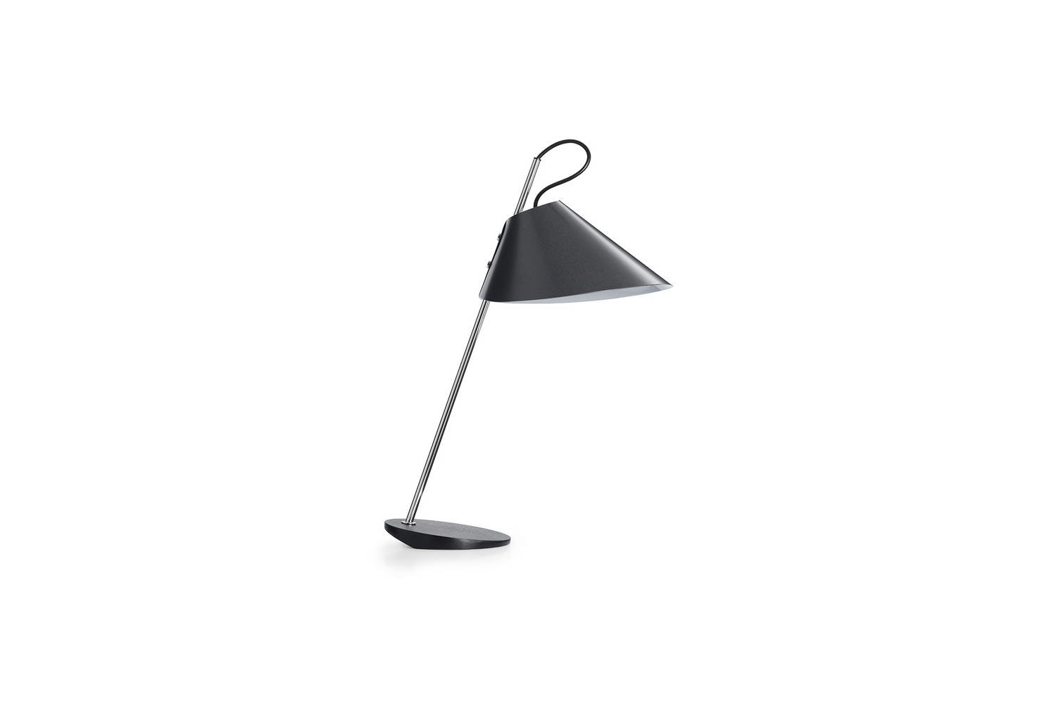 Base Ghisa Table Lamp by Luigi Caccia Dominioni for Azucena