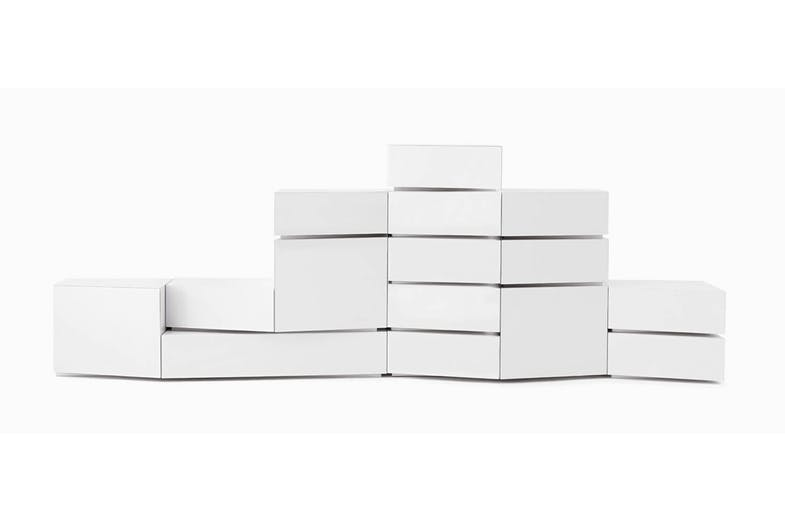 5 Blocks Modular Storage Unit by Lapo Ciatti for Opinion Ciatti