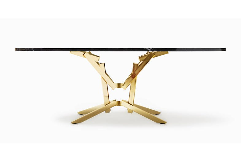 Fe+Fe Table by Bruno Rainaldi for Opinion Ciatti