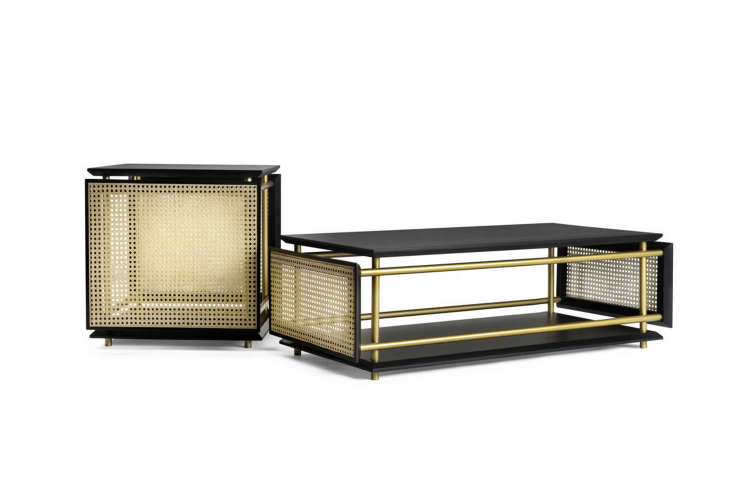 Wiener Box Coffee Table by Cristian Mohaded for Gebruder Thonet Vienna GmbH