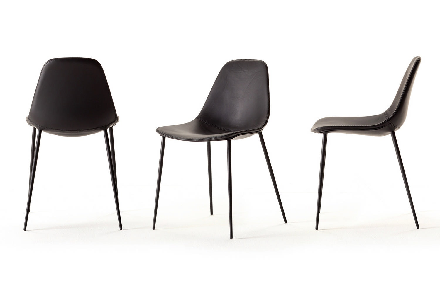 Mammamia Leather Chair by Marcello Ziliani for Opinion Ciatti