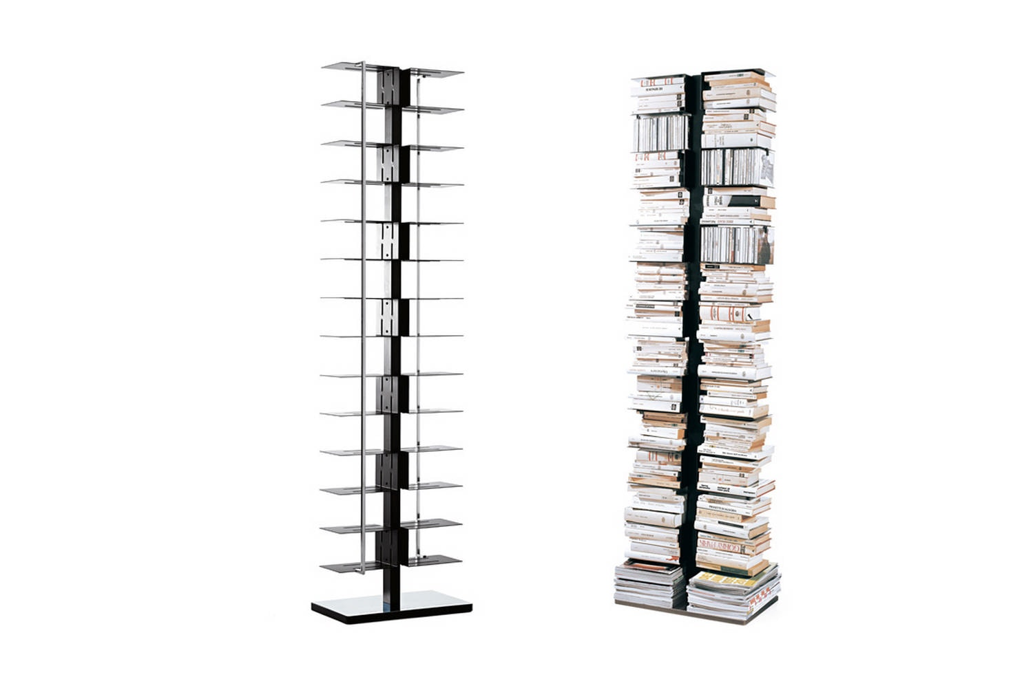 Ptolomeo X2 Bookcase by Bruno Rainaldi for Opinion Ciatti