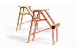 Shoe Stool by Koichi Futatsumata for Opinion Ciatti