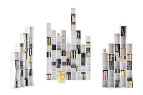 Uptown Bookshelf by Lapo Ciatti for Opinion Ciatti