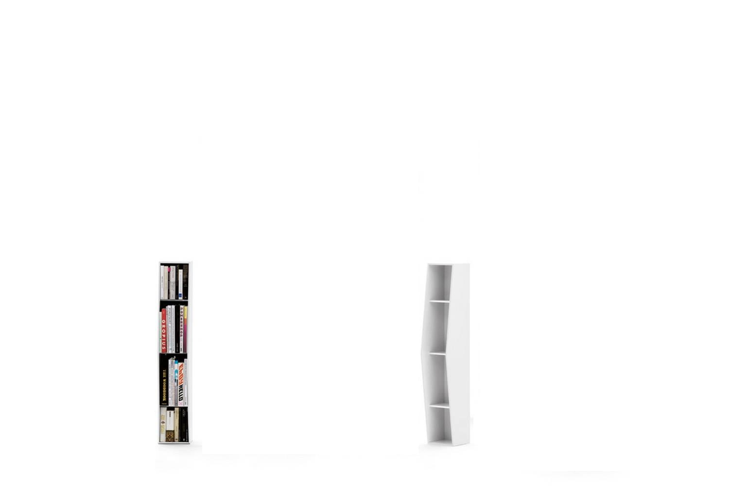 Uptown 3 Shelves Bookshelf by Lapo Ciatti for Opinion Ciatti