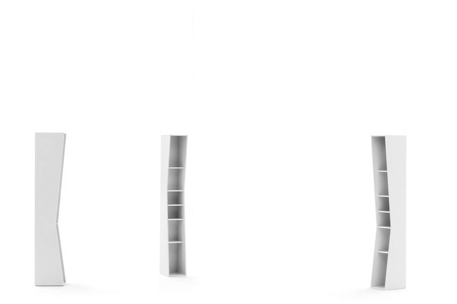 Uptown 5 Shelves Bookshelf by Lapo Ciatti for Opinion Ciatti