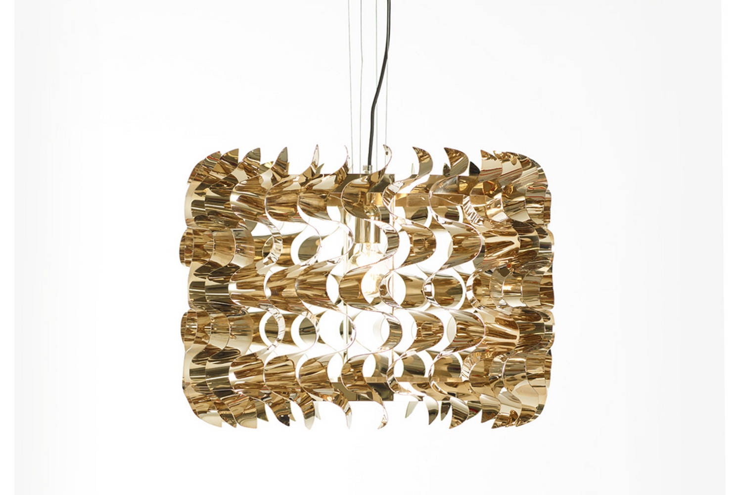 Waves Light Suspension Lamp by Maurizio Galante & Tal Lancman for Opinion Ciatti