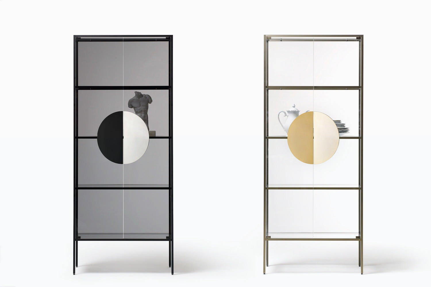 Yang Display Cabinet by Marta Giardini for Opinion Ciatti