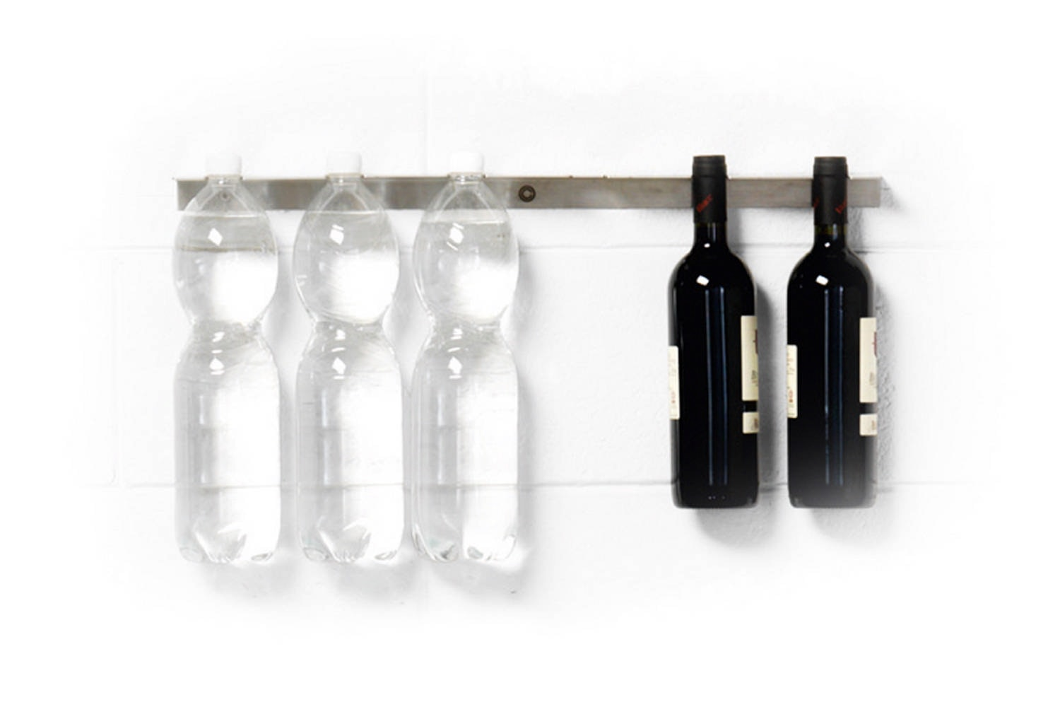 Inriga Wall Mounted Bottle Holder by Claudio Bitetti for Opinion Ciatti