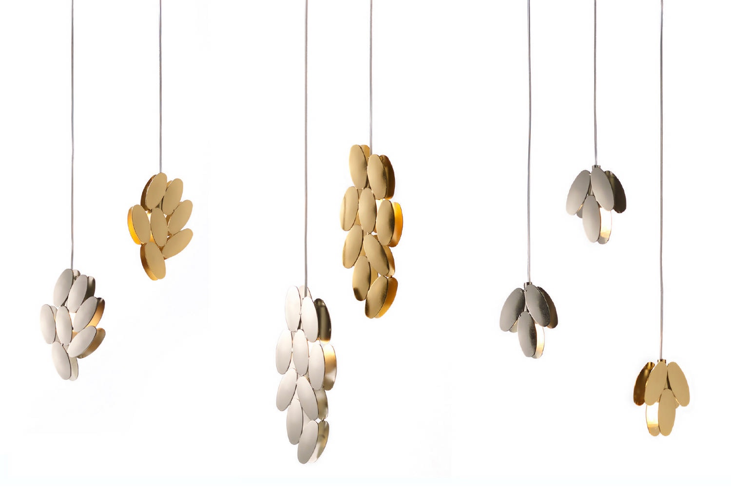 Foliae Suspension Lamp by Roberto Mora for Opinion Ciatti