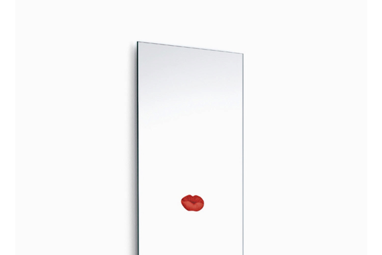 Lipstick Mirror by Bruno Rainaldi for Opinion Ciatti
