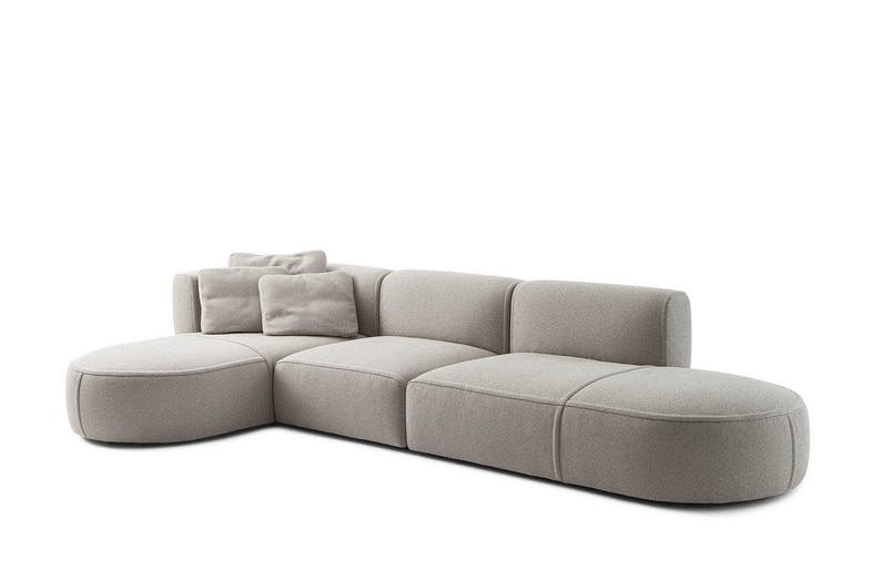 553 Bowy-Sofa by Patricia Urquiola for Cassina