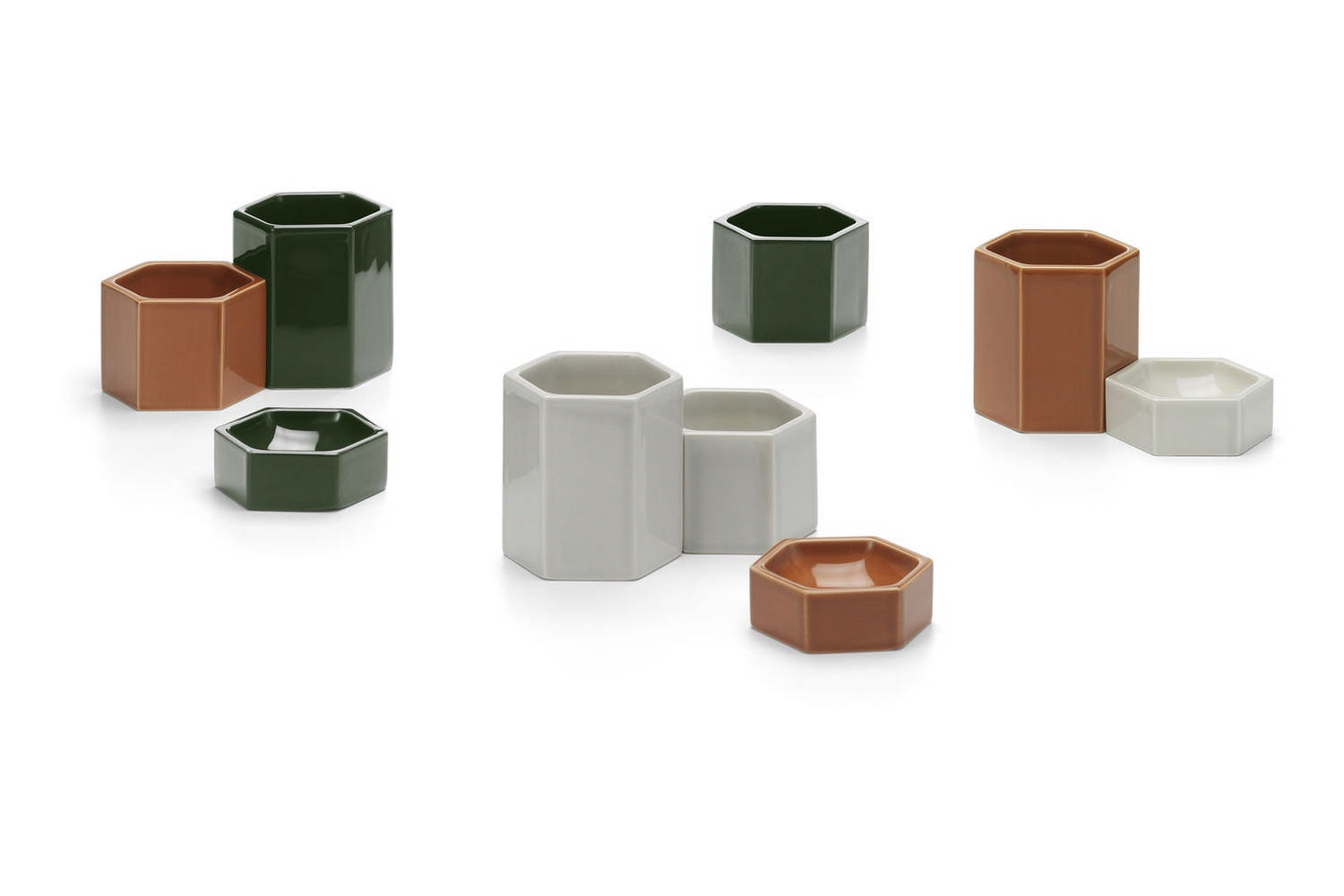 Hexagonal Containers by Jasper Morrison for Vitra