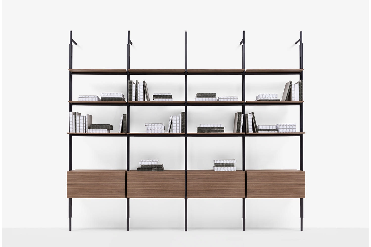 Jack Bookcase System by Michael Anastassiades for B&B Italia