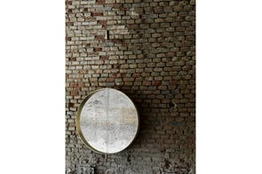 Galileo Mirror by Mario Ferrarini for Living Divani