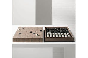 Check-Mate Chessboard by Giorgetti