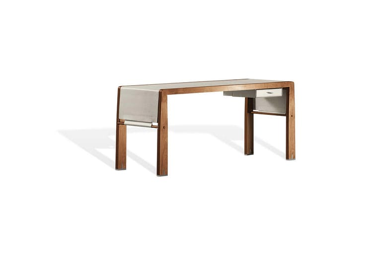 Eos Writing Desk by Chi Wing Lo for Giorgetti