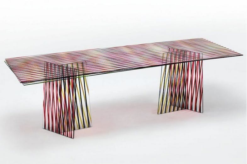Crossing Table by Patricia Urquiola for Glas Italia