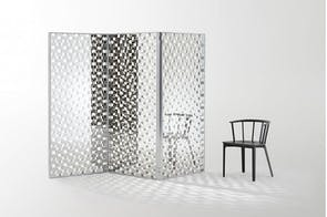 Fragment Screen by Nendo for Glas Italia