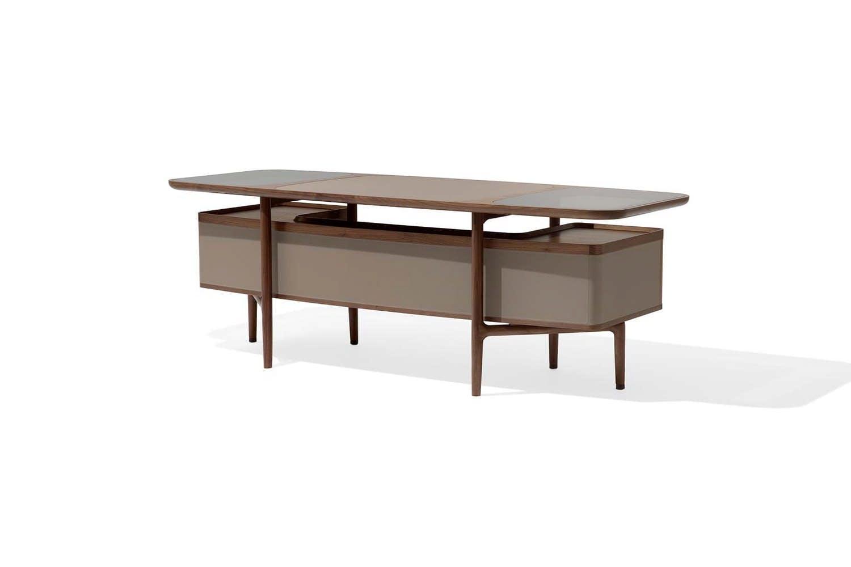 Roberto Lazzeroni Design.Mogul Desk By Roberto Lazzeroni For Giorgetti Space Furniture