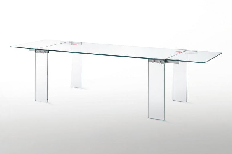 Naked Extension Table by Piero Lissoni for Glas Italia
