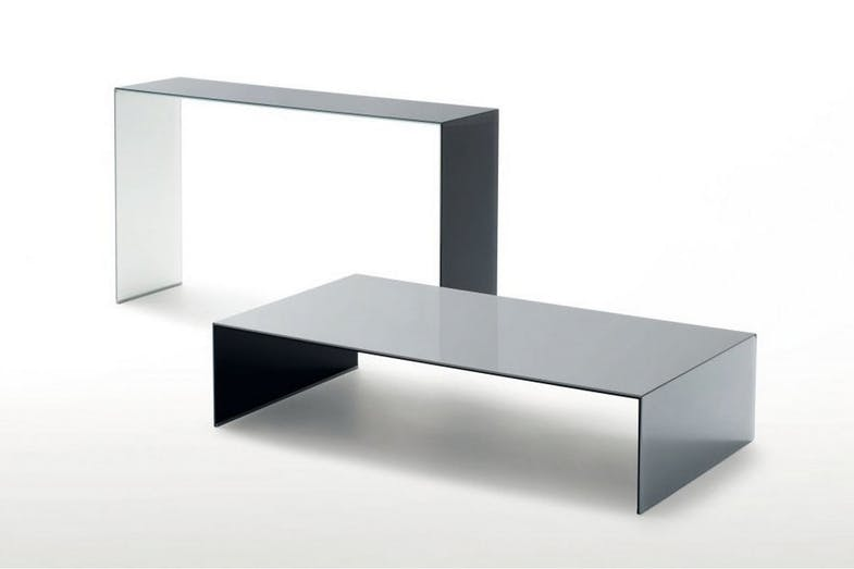 SiO2 - Bridge Coffee Table by Piero Lissoni, Marc Krusin, Carlo Tamborini for Glas Italia