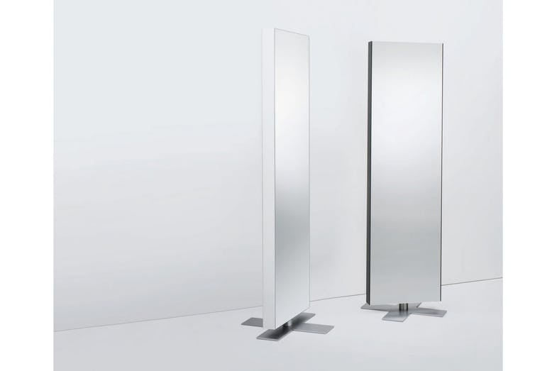 Giano Revolving Mirror by Opera Design for Glas Italia
