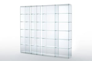 Space Bookcase by Ennio Arosio for Glas Italia