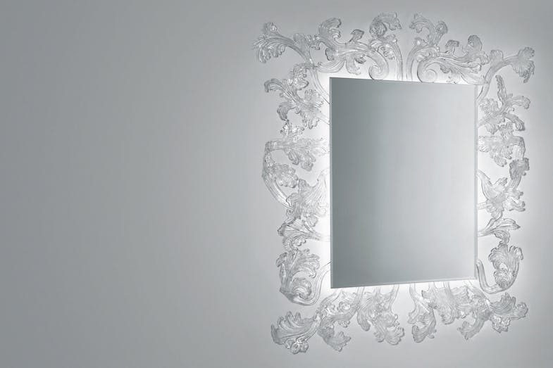 Sturm und Drang Mirror by Piero Lissoni for Glas Italia