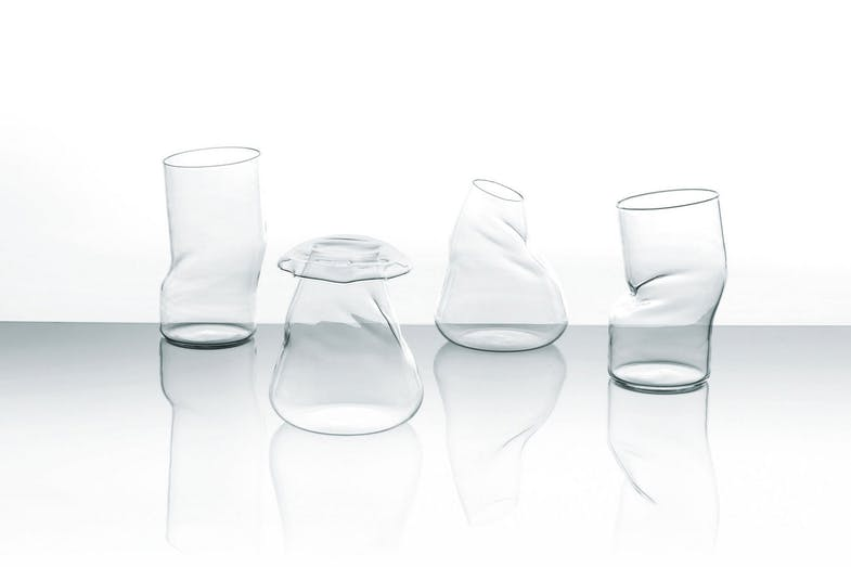Transformer  Vase by Piero Lissoni for Glas Italia