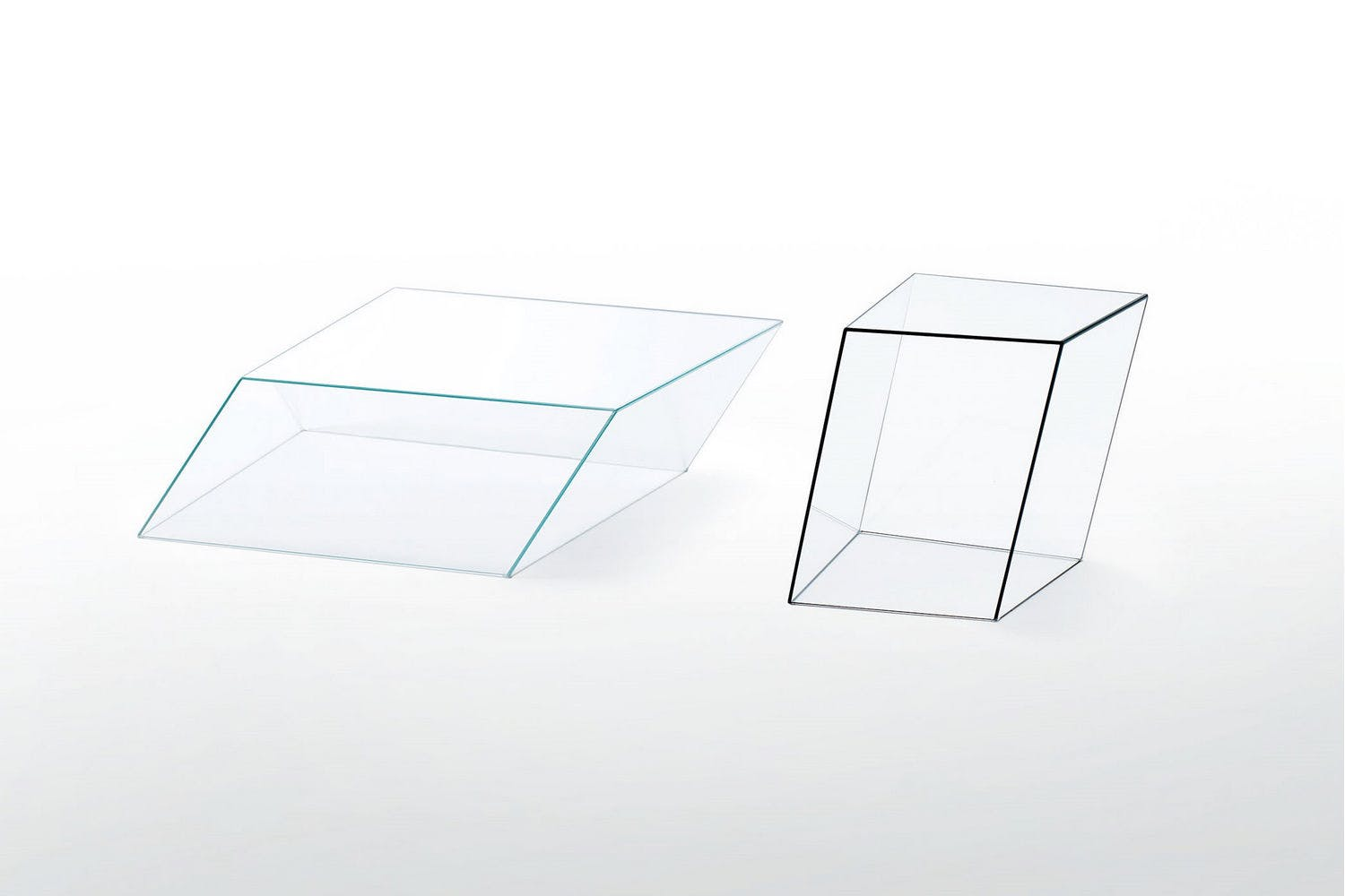 Wire Frame Coffee Table.Wireframe Side Coffee Table By Piero Lissoni For Glas Italia
